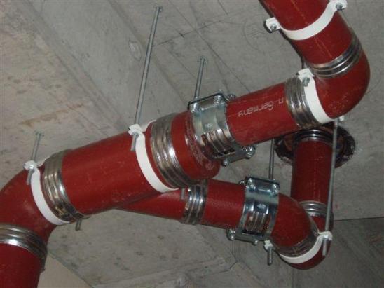 Вертикальная установка чугунных труб